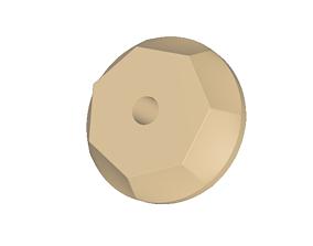 Higgs Boson Antirocker Wheel Remix 3D print model