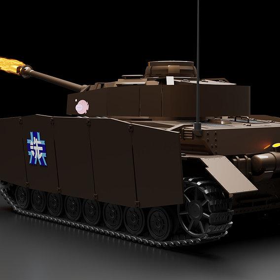 Panzer IV / ASUF-H