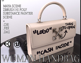 Woman Handbag Louis Vuitton 3D model