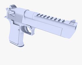 Desert Eagle 3D asset