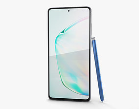 Samsung Galaxy Note10 Lite Aura Glow 3D model