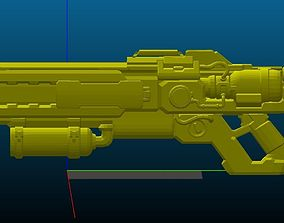 Soldier 76 Grillmaster Rifle 3D print model