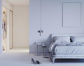 Lady bedroom 3D model