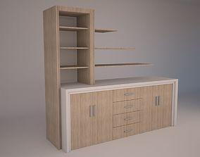 3D asset Modern Office Furniture N14