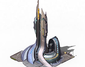 Future world - power system 3D