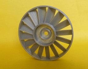 Axial compressor stator 3D printable model