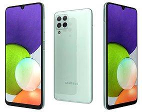 Samsung Galaxy A22 Mint 3D