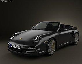 Porsche 911 Turbo S Cabriolet 2011 3D