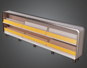 3D model Commerical Shelf 07 - SAM - PBR Game Ready