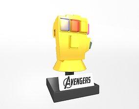3D asset Lego Infinity Gauntlet v4 001