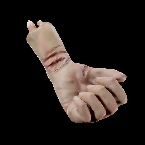 Deceped Hand