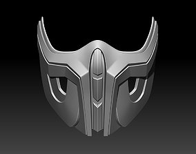 3D printable model Sub Zero mask for cosplay Mortal 4