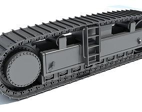 track 3D Bulldozer Excavator Track
