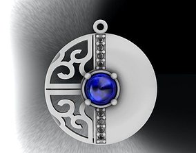 3D print model precious pendant