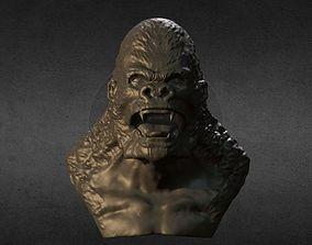 GORILLA BUST 3D print model