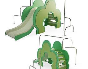3D Play area Toboggan equipment