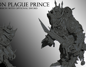 3D printable model Demon Plague Prince