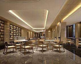 3D model Business Restaurant - Coffee - Banquet 69