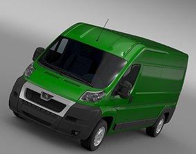 3D model Peugeot Boxer Van L3H2 2006-2014