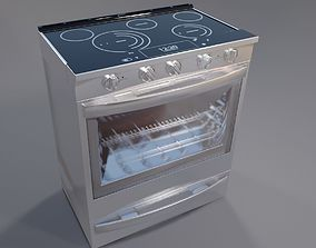 Electric Whirlpool WEE750H0HZ cooker 3D