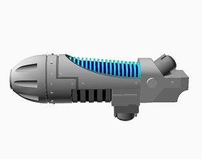 Archaic Energy Rifle - with Plague 3D printable model