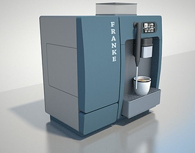 3D Coffee Maker FRANKE A200
