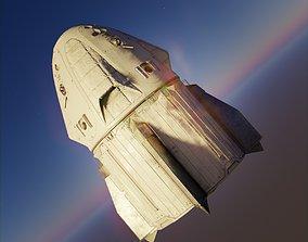 3D model Rocket ISS Station Vehicle