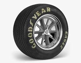 3D model tyre Goodyear Billboard Heritage Combo