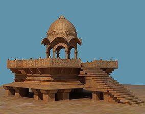 angkor Indian temple 3D