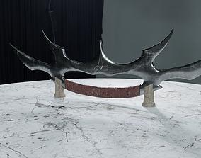 3D model Klingon Bat leth - The Sword of Kahless