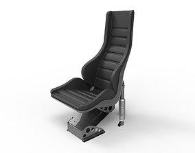 Heavy Shock Absorber Seat 6 3D model