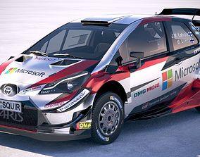 3D Toyota Yaris WRC 2018