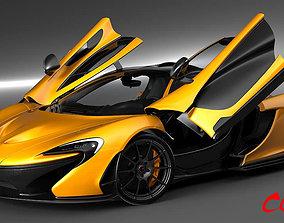 3D model McLaren P1 2015