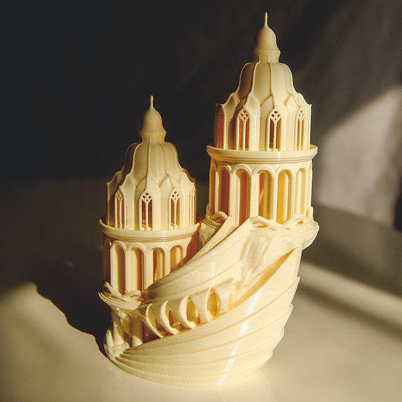 Elven High-Castle 3D Printable Model