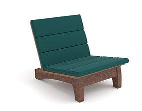 Rio Manso Chair Carlos Motta 3D model