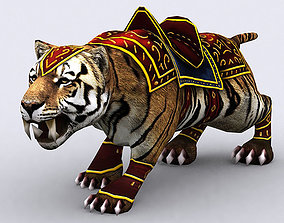 3DRT - Fantasy Mount Tiger animated