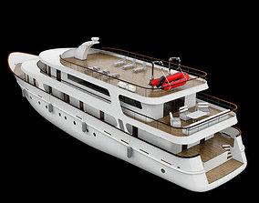 Yacht watercraft 3D model