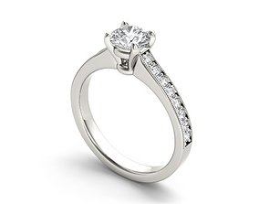 3D print model Engagement Ring 225