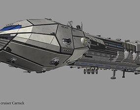 Carrack cruiser 3D model