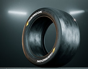 3D Hankook Racing Slick Tire
