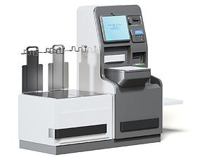 Self Service Cash Register 3D Model