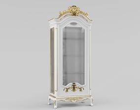 cupboard Classic Cup Board 3D model