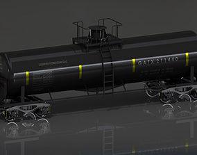 3D model GATX Railway Freight Tank