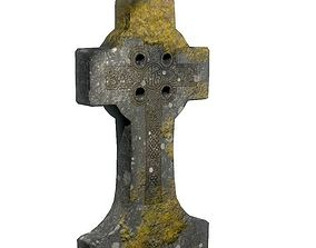 Medieval cross 3D asset