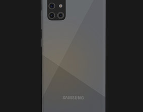 E3D - Samsung Galaxy A51 Prism Crush Silver