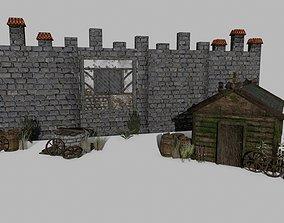 Medieval Set 3D asset realtime