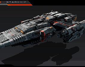 ARGOS - Starship 3D model