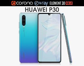 Huawei P30 Breathing Crystal 3D model