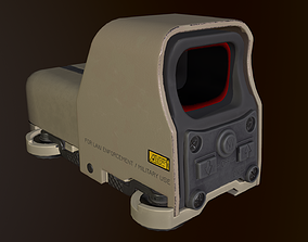 Eotech 553 holographic sight desert camo 3D model