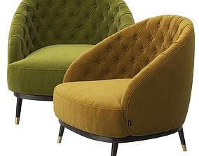 Hector armchair by Laskasas 3D
